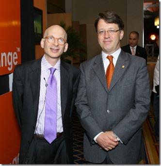 OT Seth Godin y Jean Marc Harion