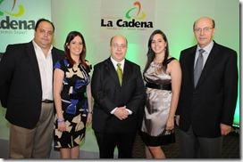 La Cadena Fotografia Principal Juan Enrique Ramos Morey, Maricarmen Cifre, Nicolás Ramos Morey , Mariela Ramos Morey  y Juan Ramos Vicente