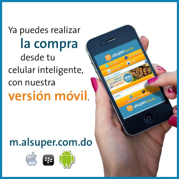 Versión móvil alsuper.com.do