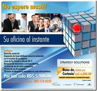 Strategy Solutions Ofertas Sep 2011
