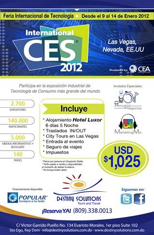 Afiche CES 2012