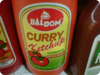 Catchup Baldom con Curry