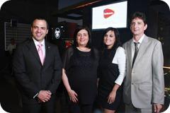 1. PRINCIPAL Rafael Melo, Desiree Logroño, Liza Arzeno, Marc Rocher