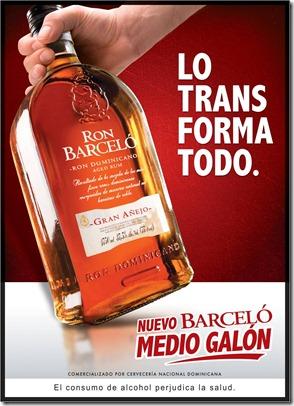Medio Galon Barcelo