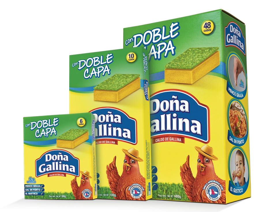 Doña Gallina Doble Capa