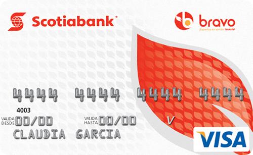 Tarjeta Scotiabank Bravo Visa
