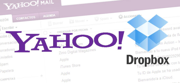 Yahoo! integra DropBox a su plataforma de correos - Almuerzo de