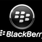 Blackberry logo negro
