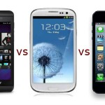 bb vs samsung vs iphone