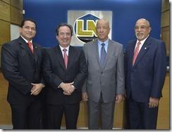 Foto principal Héctor Díaz, Fernando García, Freddy Reyes  y Francisco Melo Chalas